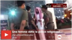 Femme saoudienne dfie la police religieuse.JPG